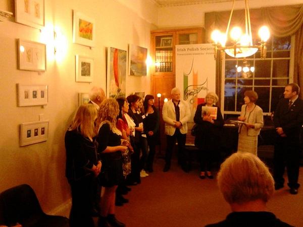 """""""Sztuka bez Granic"""" - Wystawa artystyczna Towarzystwa Irlandzko-Polskiego w Dublinie"""