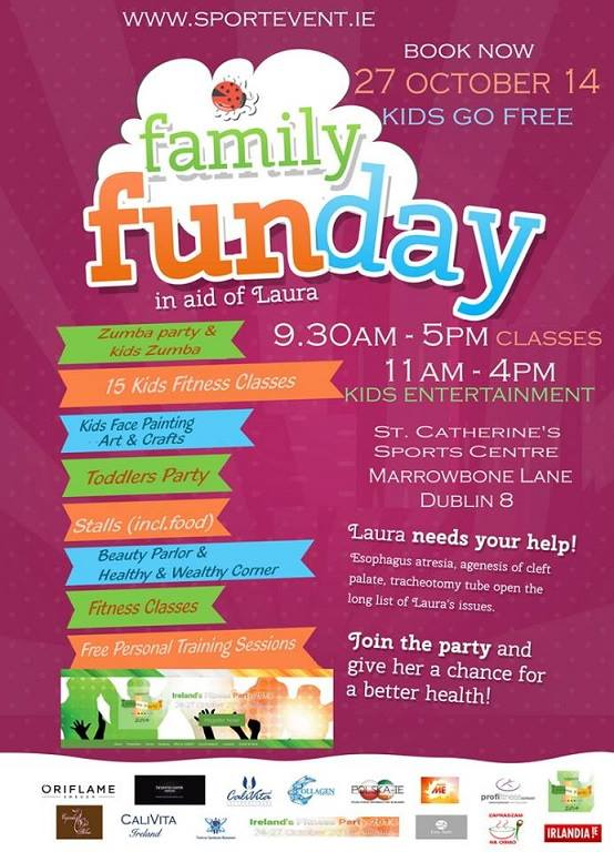 Irish Fitness Party & Family Fun Day - Akcja pomocy dla Laury!