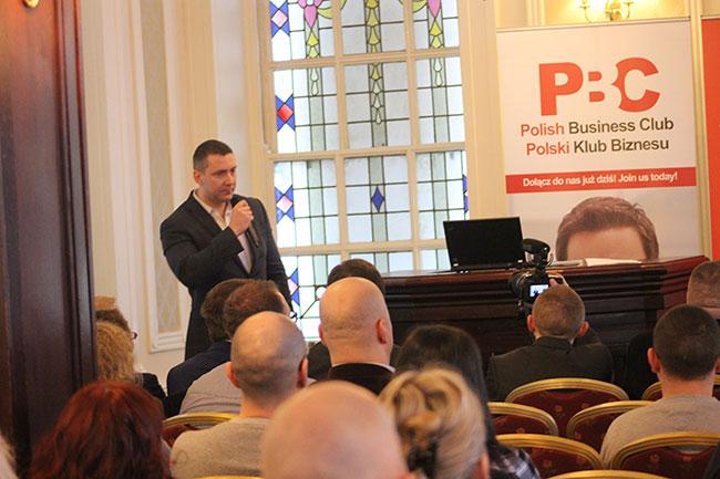 Marcin Kulik konferencja Polski Klub Biznesu 28 01 17