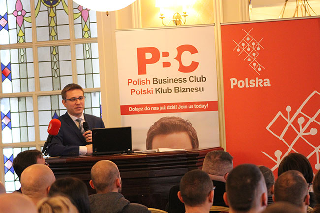 Tomasz Kaplan konferencja Polski Klub Biznesu 28 01 17