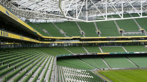 Piłkarski weekend w Dublinie
