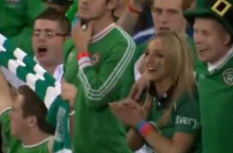 """Kibice Irlandii - """"dziękujemy"""""""
