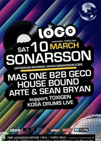 sonarson 10th march