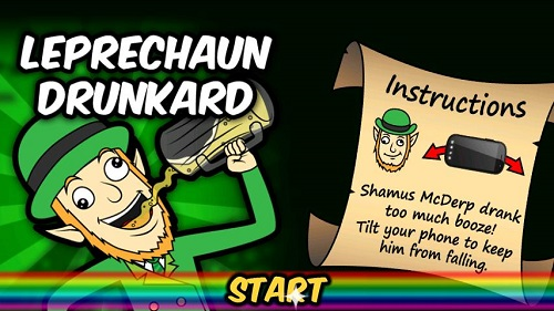 drunk leprechaun android game