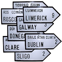 irish-county-road-signs