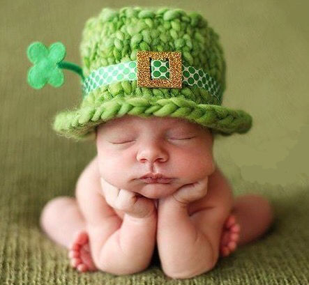 new irish baby