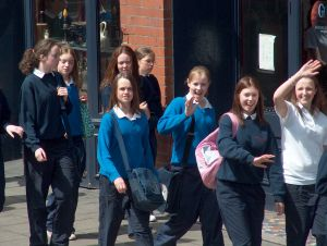 irish schoolgirls dublin ire